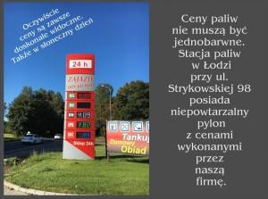 stacja paliw ceny